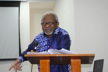Presidente do Conselho Nacional de Educação de Benin, Paulin J. Hountondji