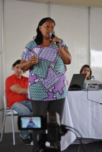 Profa. Aparecida da Silva, coord. Educação Aberta e a Distância da Unilab