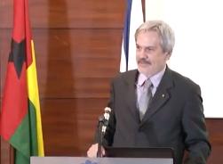 Reitor Paulo Speller na Reunião de Pontos Focais da CPLP