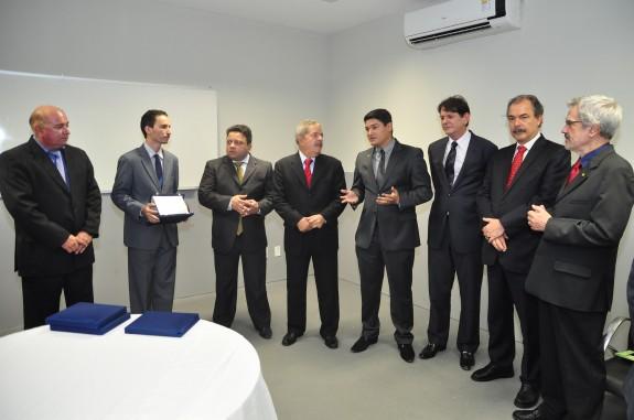 Entrega do título ocorreu no Campus dos Palmares