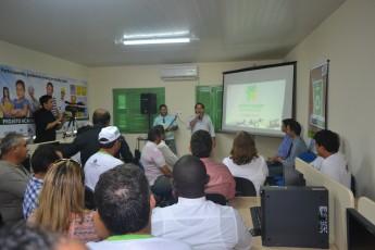 Vice-reitor da Unilab, Fernando Afonso, participou da inauguração do local