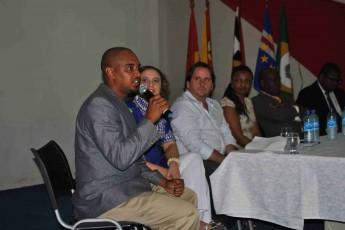 Albertino Delgado, representante da Rede Nacional da Campanha de Educação para Todos de Cabo Verde.