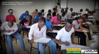 Candidatos de Guiné-Bissau participam do processo seletivo para a entrada nos cursos de Graduação na Unilab.