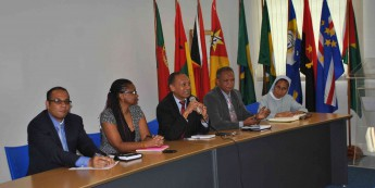 Comitiva do Timor-Leste visitou a Unilab nesta quarta-feira (26).