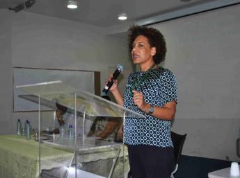 Alessandra Ambrósio, representante da Agência Brasileira de Cooperação do Ministério das Relações Exteriores (ABC/MRE).