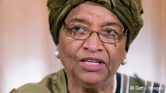 Ellen Johnson Sirleaf, Presidente da Libéria.