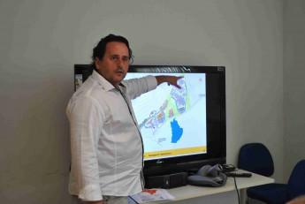 Vice-reitor, Fernando Afonso, apresentou a estrutura do Campus das Auroras.
