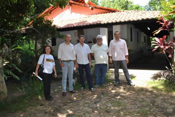 Visita à Fazenda Experimental da Unilab.