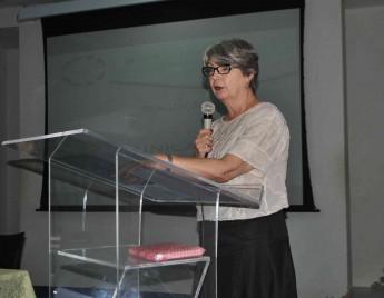 Professora visitante da Unilab, Lorita Marlena Freitag Pagluica.