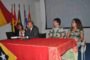 Adido de Educação em Timor-Leste, Luís de Sousa Serqueira.