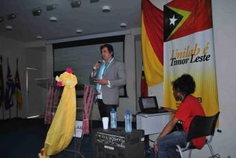 Professor do Instituto de Humanidades e Letras, Rámon Capelle.