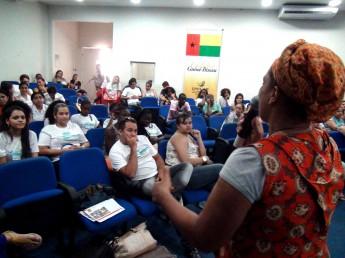 Participação de Misa na 2ª Semana da Enfermagem da Unilab.
