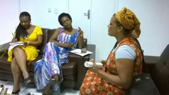 Misá se reúne com a reitora da Unilab.