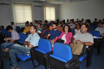 Estudantes e professores participaram do evento, que foi realizado no Auditório do Campus da Liberdade.