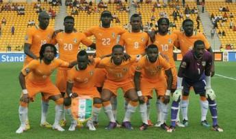Seleção da Costa do Marfim.