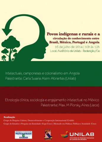 cartaz Povos indigenas2