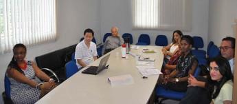 Comissão de avaliação e equipe da Unilab