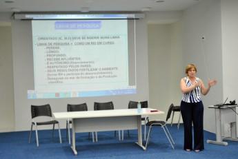 Representante da Assessoria da Proposta do Mestrado, da UFPR, profª. Graciela Muniz