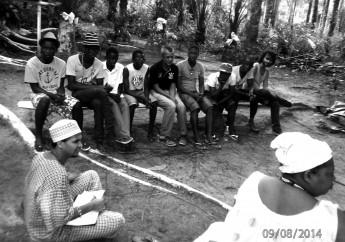 """Primeira Vivência Internacional"" da Comunidade Terreiro Caxuté"
