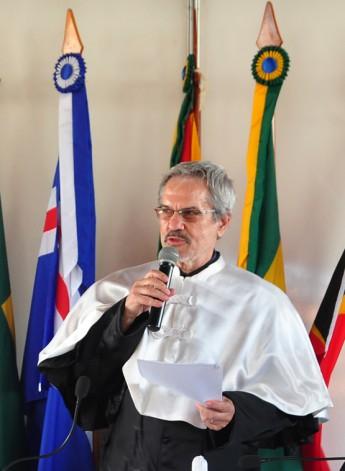 Prof. Dr. Paulo Speller, primeiro reitor da Unilab