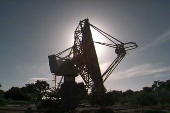 Imagem do Rádio-Observatório Espacial do Nordeste
