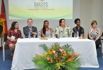 Professores (a): Albanise Marinho; Paulo Speller; Nilma Gomes; Fernando Afonso Junior; Rosalina Tavares; e Graciela Inês Muniz
