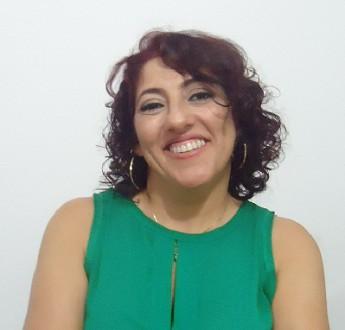 Professora convidada Nukácia Araújo.