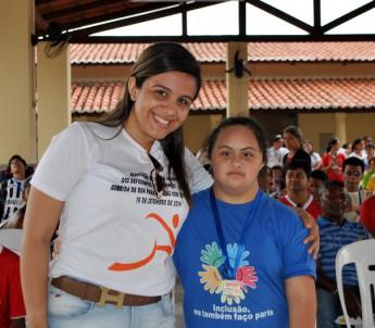 Estudante do curso de Enfermagem da Unilab, Samara dos Reis.