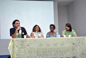 Coordenadores: Gledson Oliveira (Sociologia); Rebeca Meijer (Pedagogia);  Vera R. Rodrigues (Antropologia); e Fábio Baqueiro (História)