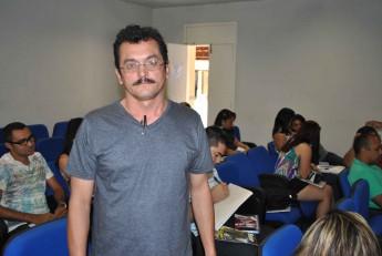 Estudante do curso, Ediner Costa.