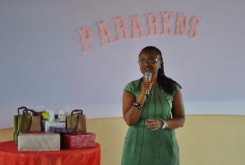 Reitora, profª. Nilma Lino Gomes