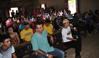Público no evento