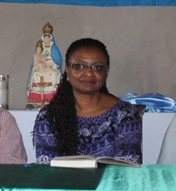 Reitora, profª. Nilma L. Gomes