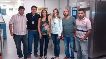 Comissão de Criação e Estruturação do Biotério da Unilab em visita a Unifor