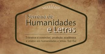 DESTAQUE SEMANA DE HUMANIDADES E LETRAS