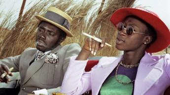 Filme Touki Bouki, do diretor senegalês Djibril Diop Mambéty