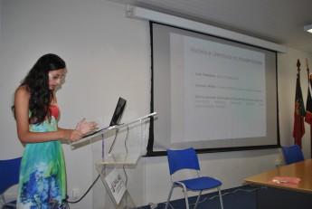 Os trabalhos também foram expostos em apresentação oral, como o da estudante Jordana Marques