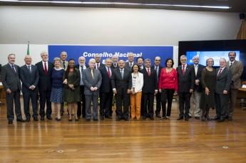 Novos conselheiros do CNE. Foto: Isabelle Araújo /MEC