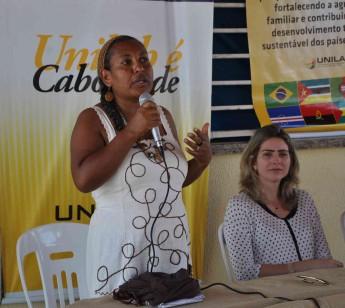 Ana Lourdes de Freitas, coordenadora da Rede Cearense de Economia Solidária.