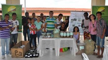"""Estudantes da disciplina """"Alimentação Animal"""" do curso de Agronomia da Unilab."""