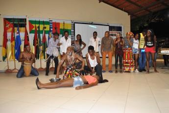 Encenações se referiram à cultura angolana.