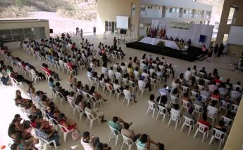 Comunidade acadêmica e convidados prestigiaram o evento.