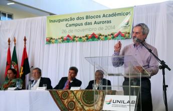 Secretário de Educação Superior do Ministério da Educação (MEC) e primeiro reitor da Unilab, Paulo Speller.