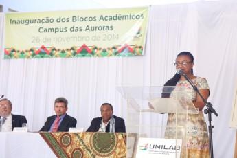 Reitora da Unilab, Nilma Lino Gomes.