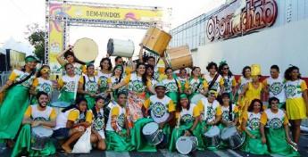 Grupo de percussão Casa Caiada