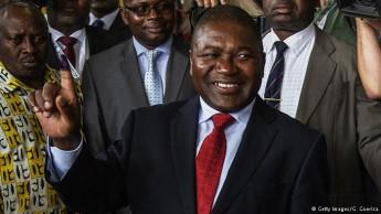 O Presidente eleito Filipe Nyusi.