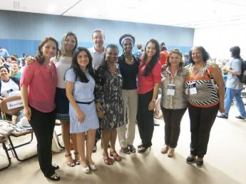 Comitiva que representou a Unilab durante Encontro Nacional dos Bacharelados Interdisciplinares.