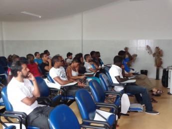 Estudantes participam da I Semana de Humanidades e Letras