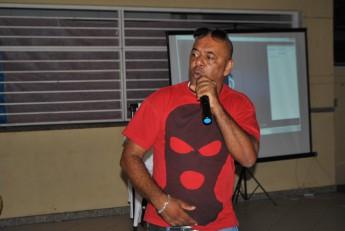 O rapper e escritor GOG é uma referência do hip hop no Brasil.