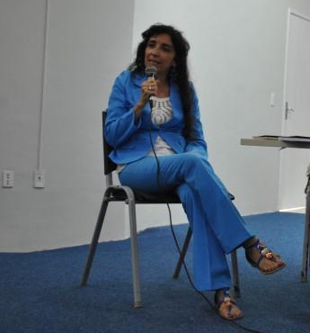 Professora do Instituto de Humanidades e Letras (IHL) da Unilab, Denise Rocha.